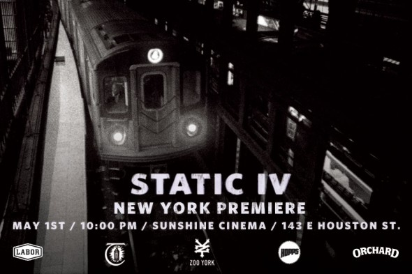 Static 4 New York Premier Flyer